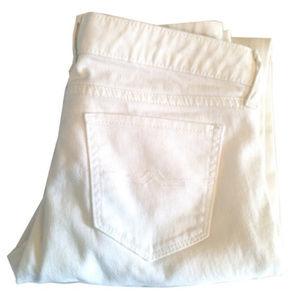 Arizona Jean Company White Super Skinny Jeans | 7
